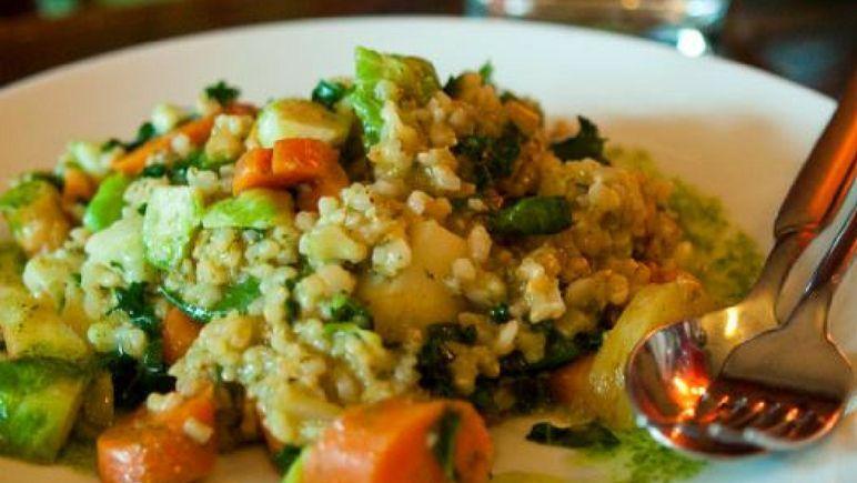 Risotto con vegetales receta