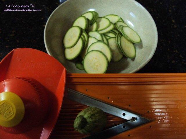 chips calabacin cortar