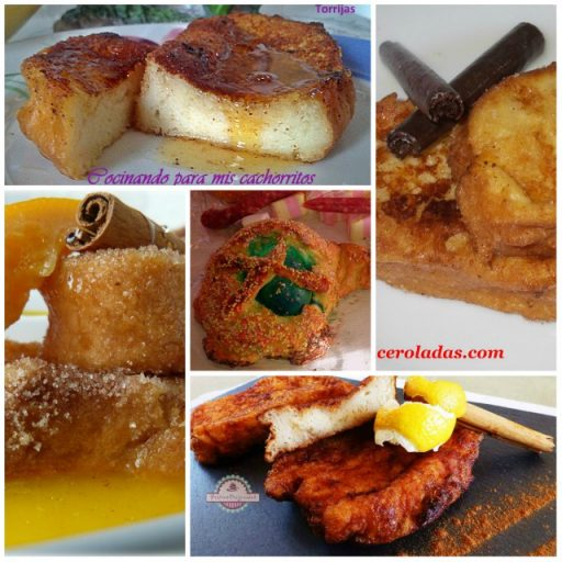 recetas de torrijas pascuas