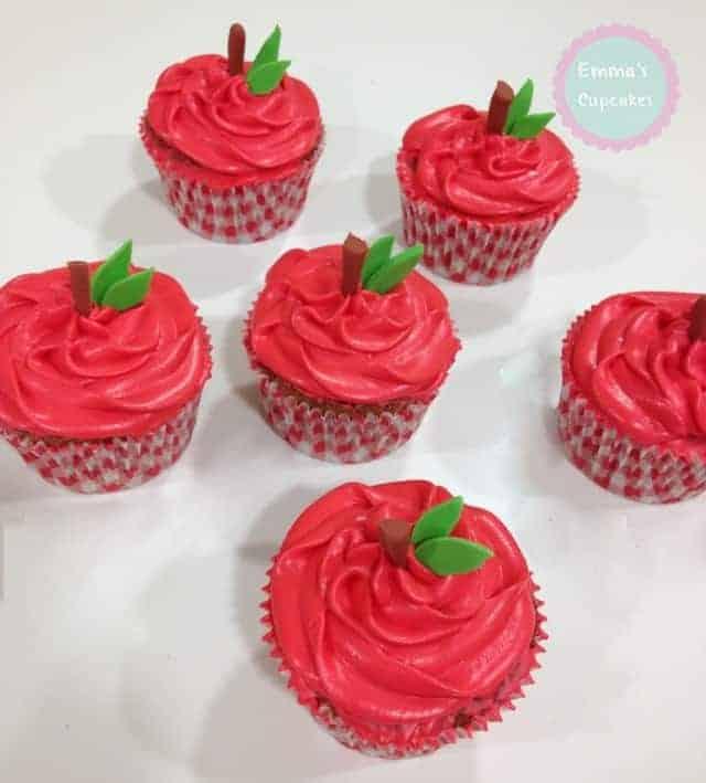 Cupcakes manzana 1