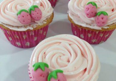 Cómo hacer cupcakes (cupcakes de fresa)