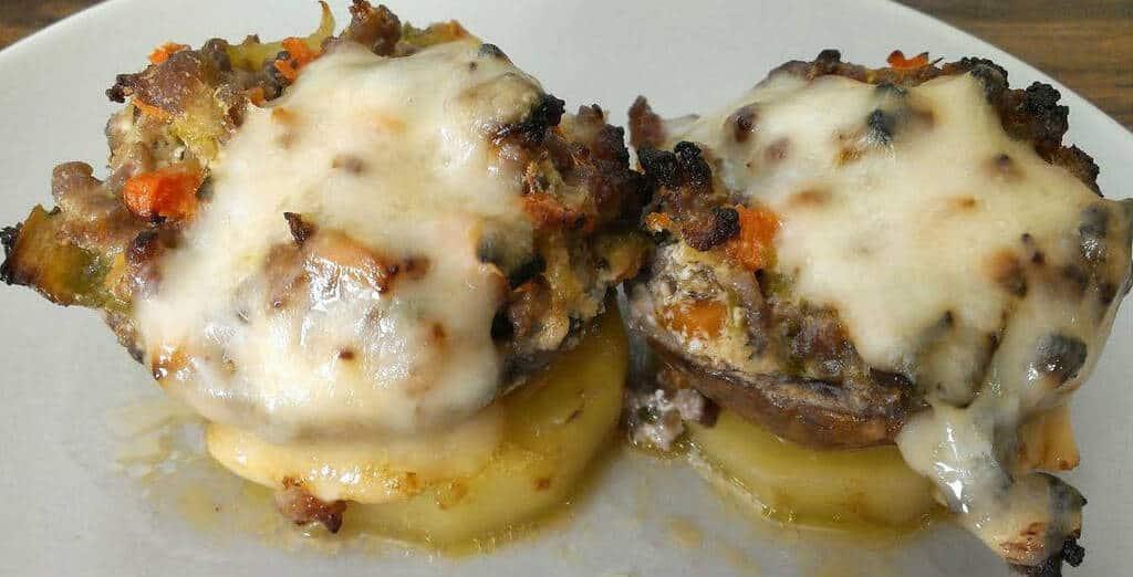 champinones-rellenos-de-pavo-y-verduras