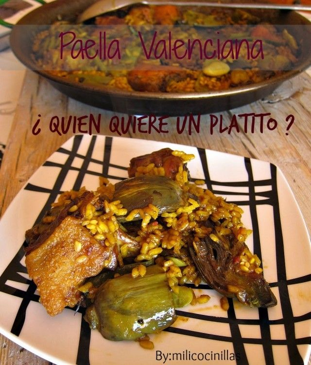 paella valenciana principal