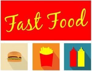 comidas rapidas fast food