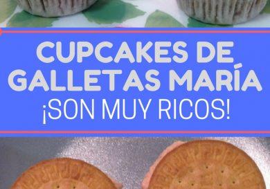 cupcakes de galletas maría
