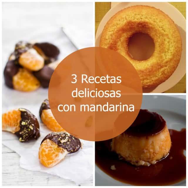 3 recetas deliciosas con mandarina