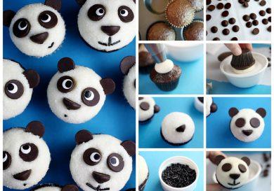 cupcakes osos panda