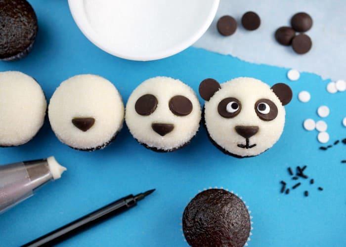 cupcakes pandas 11