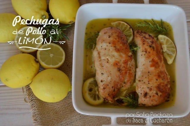 Pechugas de pollo al lim n - Pechugas al limon ...