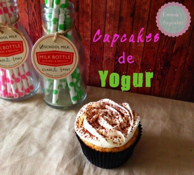 Cupcakes de yogur