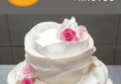 Aprende a decorar una tarta de fondant en 4 minutos