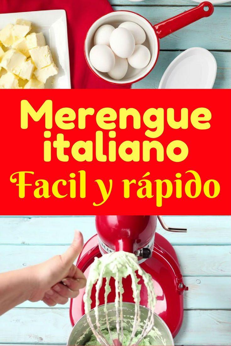 buttercream de merengue italiano