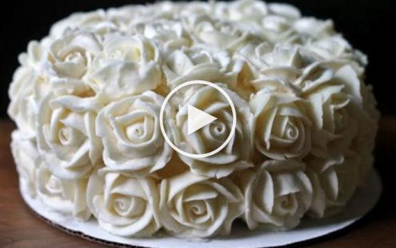 C 243 Mo Hacer Flores De Buttercream Crema De Mantequilla