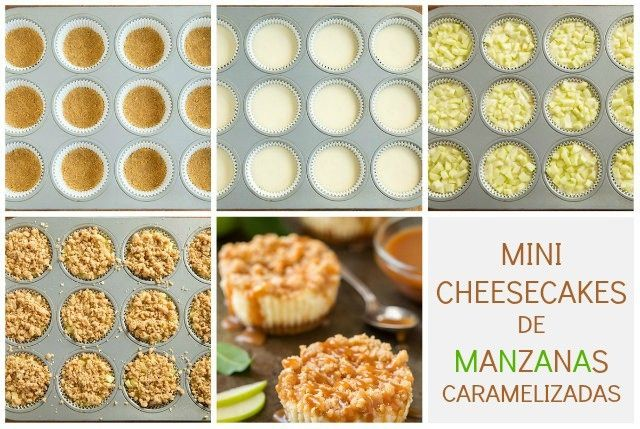 mini-cheesecake-de-manzanas-caramelizadas