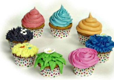 Técnicas para decorar cupcakes