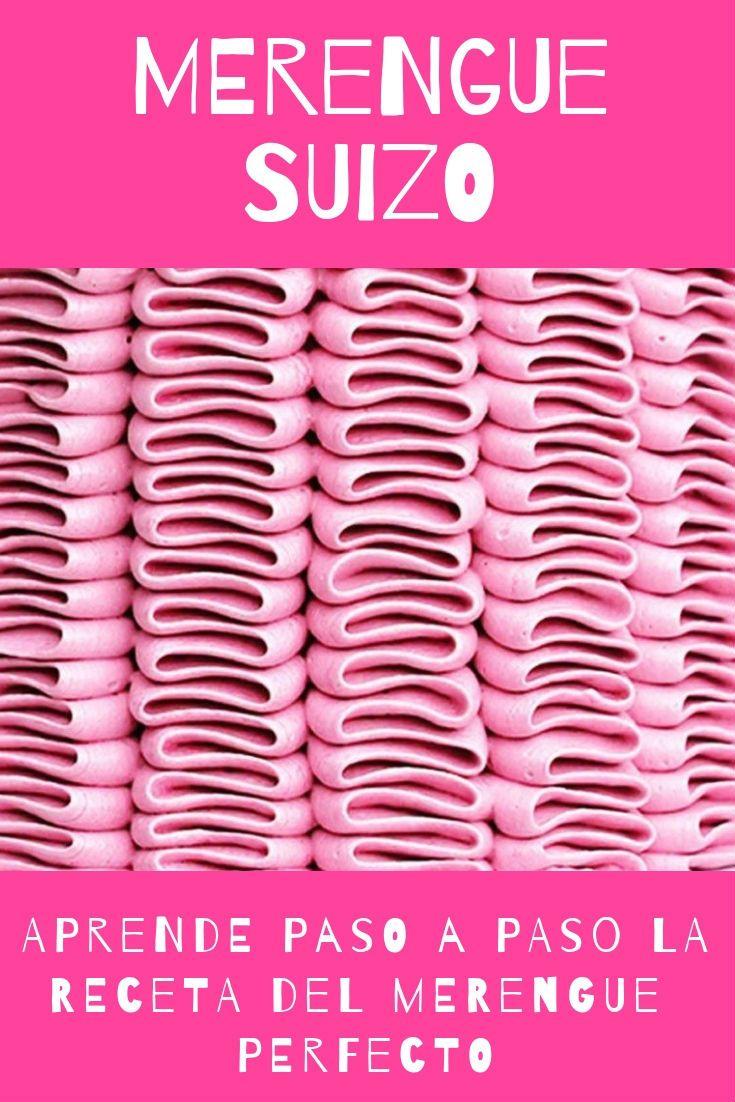 Merengue suizo rosa oscuro pt