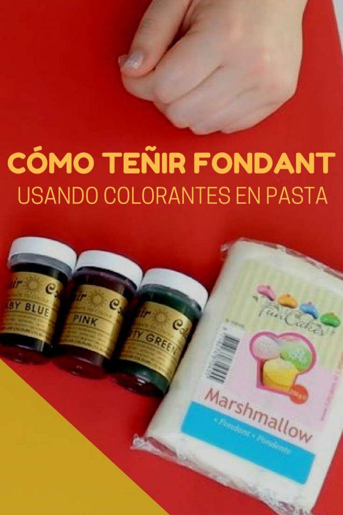 Cómo teñir colorantes en pasta