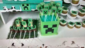 Torta en minecraft mesa dulce 1