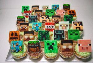 Torta en minecraft mesa dulce 2