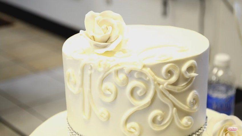 C mo decorar una tarta de bodas f cil y r pida - Reposteria facil y rapida ...