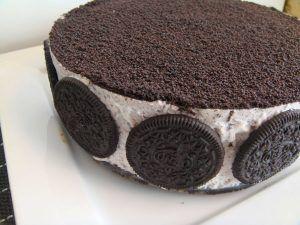 Como hacer una tarta de oreo