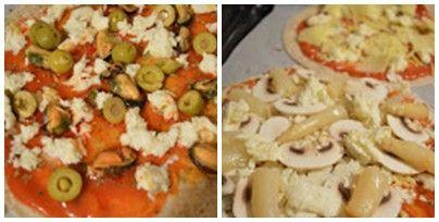 pizzas rápidas paso a paso