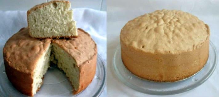 receta bizcocho básico para tartas 2