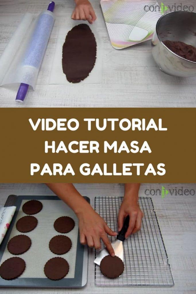 como estirar y cortar masa para galletas