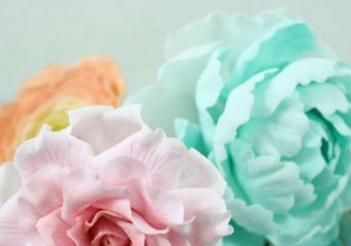 Pasta para flores de azúcar