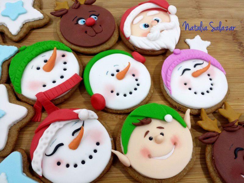 Formas De Decorar En Navidad.Como Decorar Galletas De Navidad Con Fondant De Forma Facil
