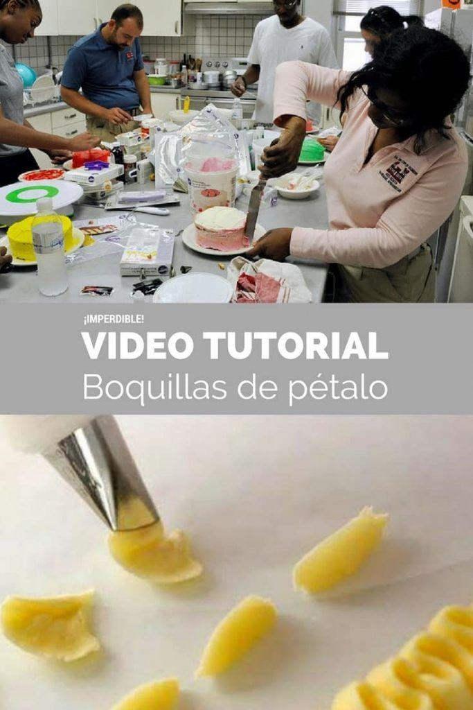 Cómo usar unaboquilla de pétalo