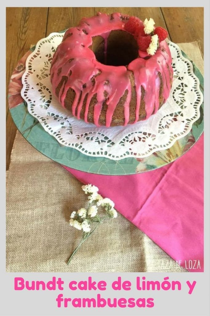 Tartas faciles bound cake