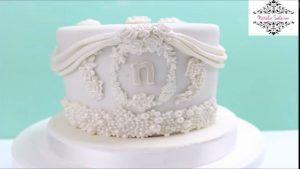 tarta de caramelo decorada