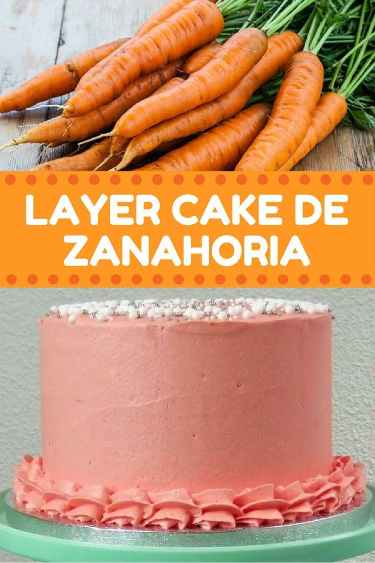 layer cake de zanahoria