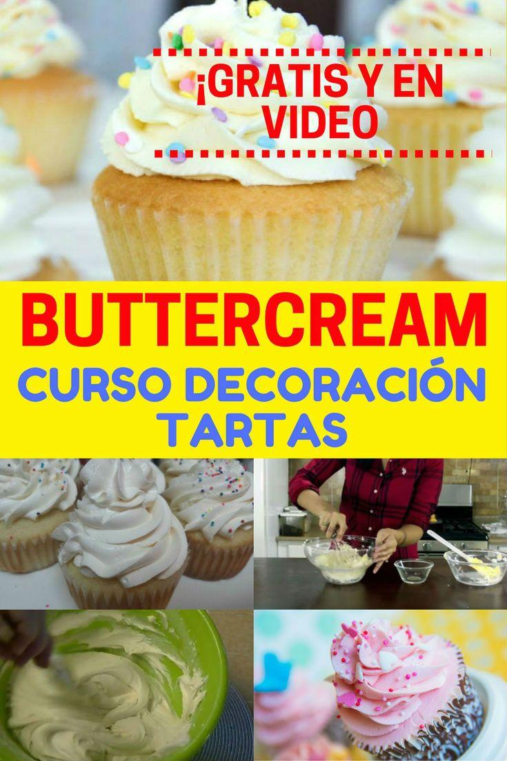 cursos de decoracin de tartas con buttercream 1