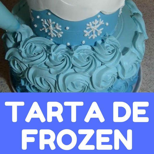 tarta de frozen
