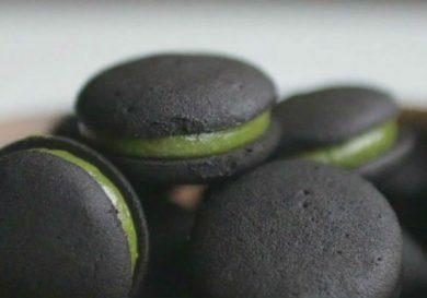 Cookies de te verde y oreo
