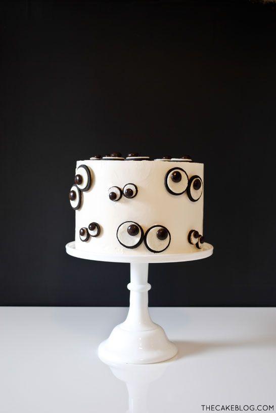 ideas para halloween tarta de ojos 1