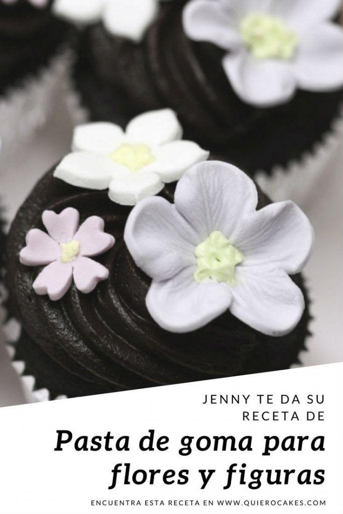 Pasta de goma para flores y figuras