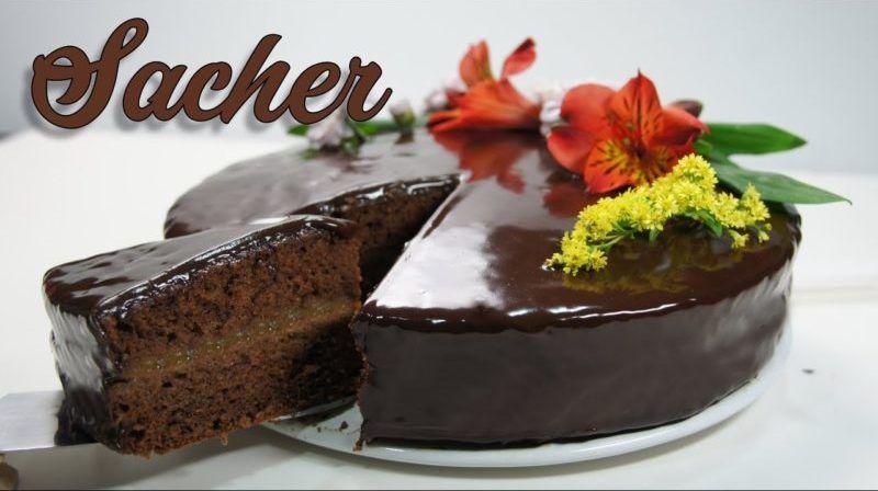 Tarta Sacher versión fácil