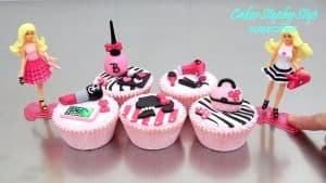 cupcakes de barbie