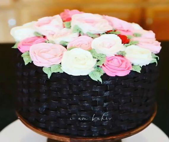 tartas espectaculares cesta