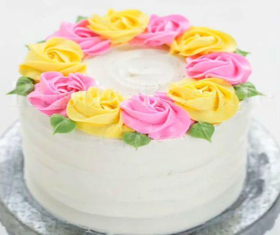 tartas espectaculares rosas 1