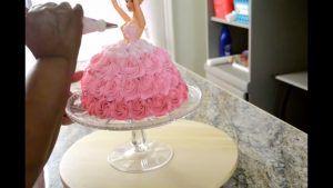 tartas traje de muñeca