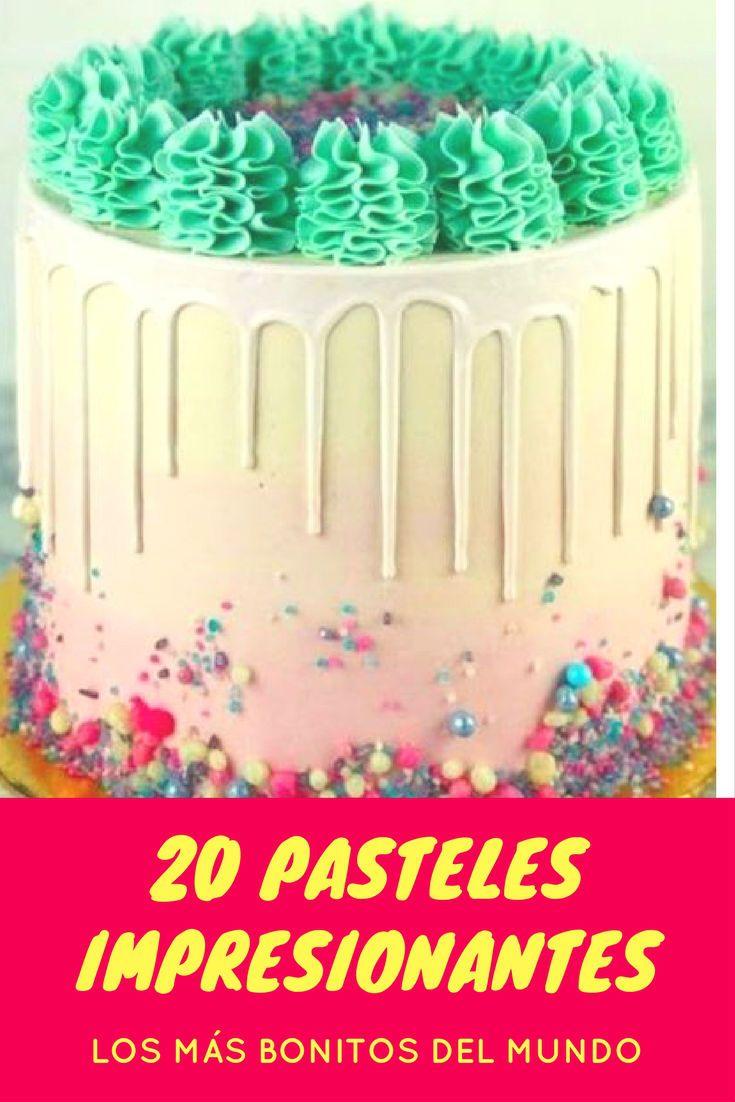 20 pasteles impresionantes