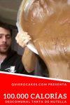 Descomunal tarta de Nutella