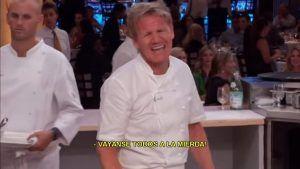 Todos los enojos del jurado mas polemico del famoso reality de cocina