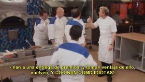 cocinan como idiotas