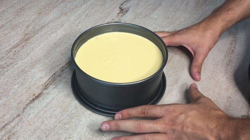 Cheesecake de arándanos pasos 3