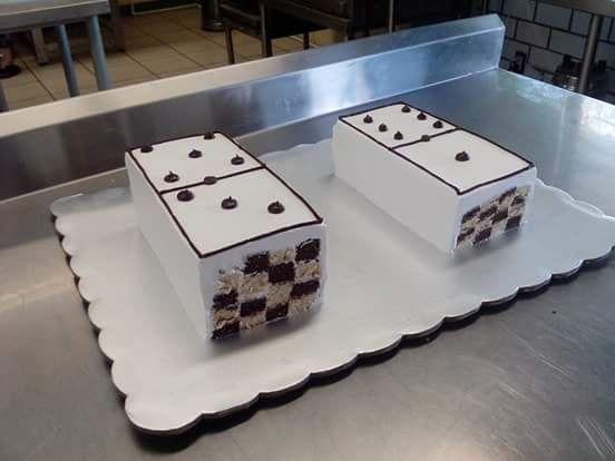 Torta dominó